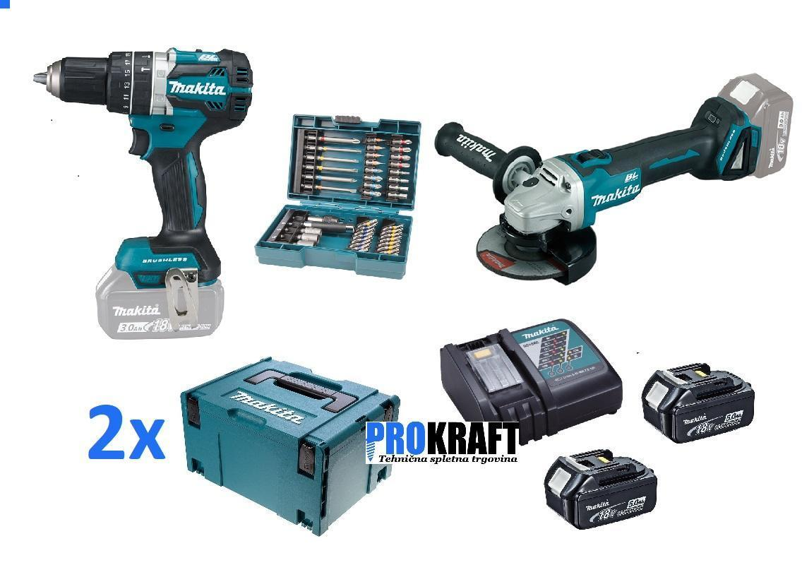 akumulatorski set DLX217925AKC