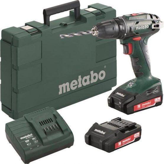 METABO Metabo akumulatorski vrtalnik vijačnik BS 18