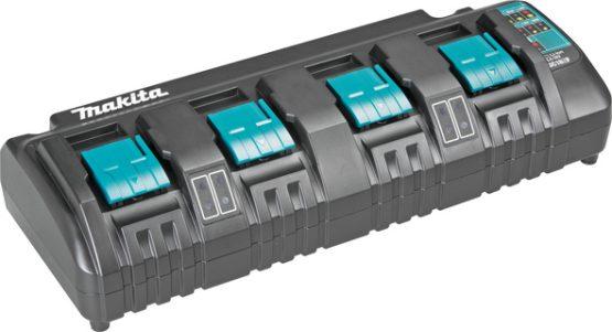 polnilnik za štiri akumulatorje