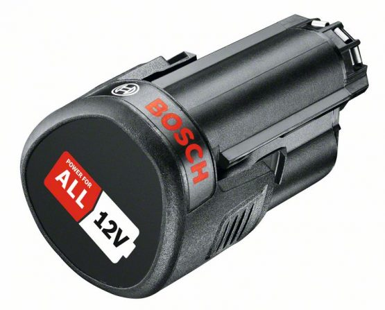 12-voltni litij-ionski sistemski pribor Akumulatorska baterija PBA 12 V 2,5 Ah O-B