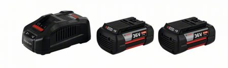 Začetni komplet 2 x GBA 36V 6.0Ah + GAL 3680 CV