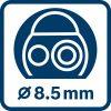 Akumulatorska kamera za pregled GIC 120 C