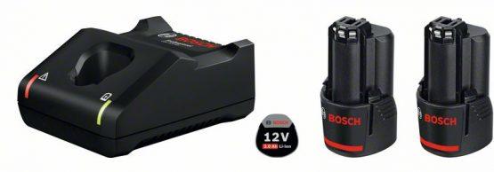 Začetni komplet 2 x GBA 12V 2.0Ah + GAL 12V-40