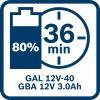 Akumulatorska baterija GBA 12V 3.0Ah