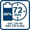 Akumulatorska baterija GBA 12V 6.0Ah