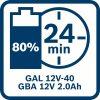 Akumulatorska baterija GBA 12V 2.0Ah