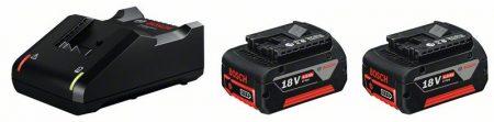 Začetni komplet 2 x GBA 18V 4.0Ah + GAL 18V-40