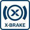 Akumulatorski kotni brusilnik s sistemom X-LOCK GWX 18V-10 PC