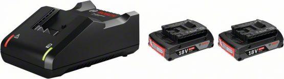 Začetni komplet 2 x GBA 18V 2.0Ah + GAL 18V-40 Professional