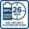 Akumulatorska baterija ProCORE18V 8.0Ah