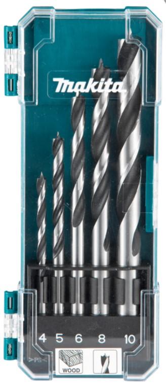 MAKITA 5-delni set svedrov za beton(4,5,6,8,10mm)D-72861