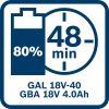Akumulatorska baterija GBA 18V 4.0Ah